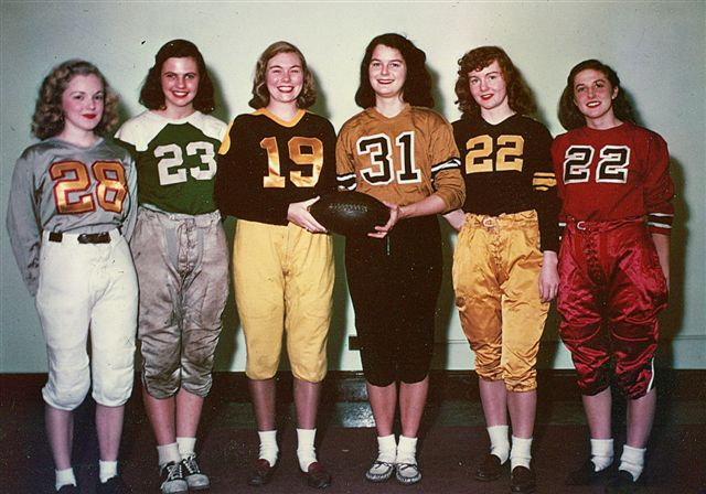 Ladies football, circa 1948
