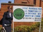 Curator Valerie Love in Rwanda