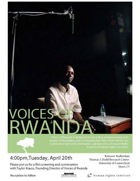 Voices of Rwanda Poster